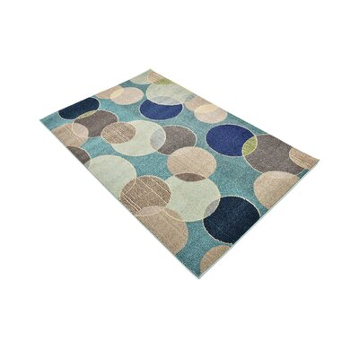 Chenango Rectangle Blue Area Rug Rug Size: Rectangle 8 x 10