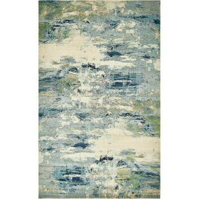 Chenango Blue Area Rug Rug Size: Rectangle 8 x 10