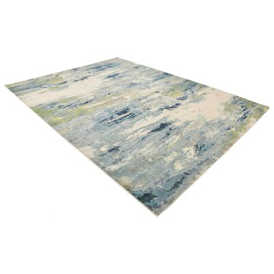 Chenango Blue Area Rug Rug Size: Rectangle 9 x 12