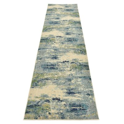 Chenango Blue Area Rug Rug Size: Runner 27 x 10