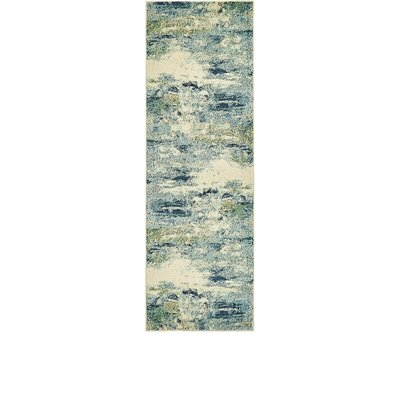 Chenango Blue Area Rug Rug Size: Runner 22 x 67