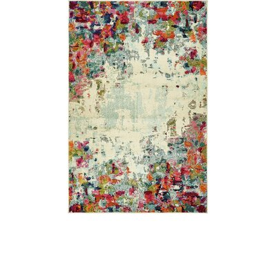 Chenango Rectangle Cream Area Rug Rug Size: Rectangle 5 x 8
