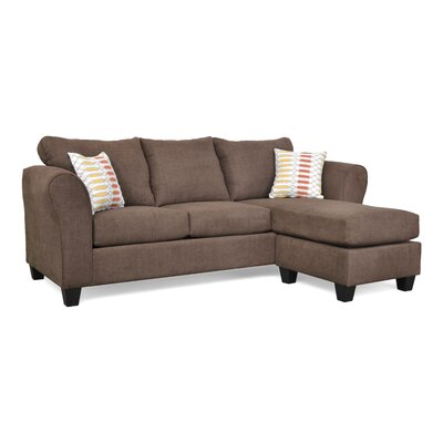 Dominey Sectional Upholstery: Zenith 103 / Popsicle Terra