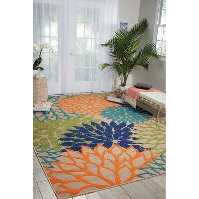 Nathalie Cream Indoor/Outdoor Area Rug Rug Size: Rectangle 710 x 105
