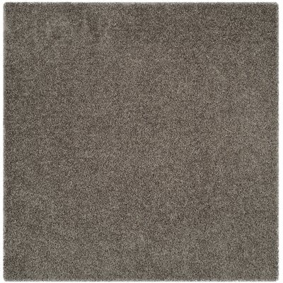 Holliday Silver Area Rug Rug Size: Square 5
