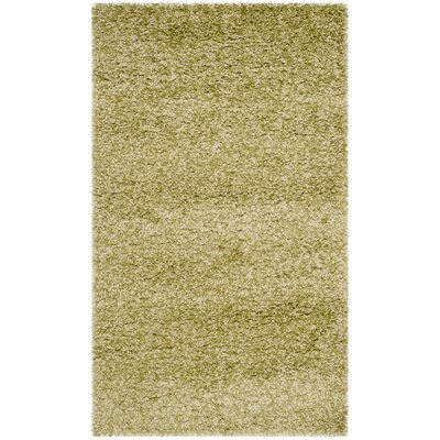 Holliday Green Area Rug Rug Size: Rectangle 3 x 5