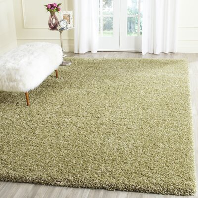 Holliday Green Area Rug Rug Size: Rectangle 8 x 10