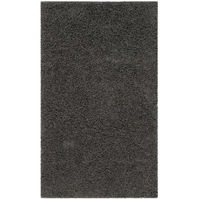 Kourtney Dark Grey Area Rug Rug Size: Rectangle 3 x 5