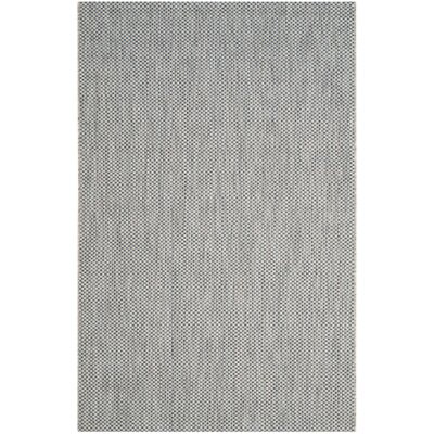 Bolen Gray / Navy Indoor/Outdoor Area Rug Rug Size: Rectangle 67 x 96