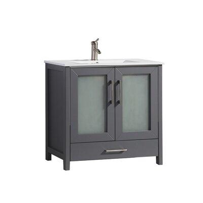Larrick 48 Single Bathroom Vanity Base Finish: Gray
