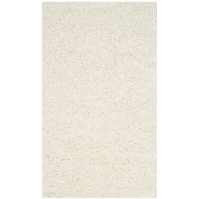Kourtney White Area Rug Rug Size: Rectangle 3 x 5