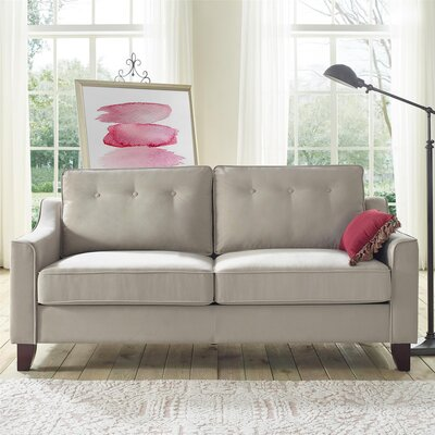Heron Sofa Color: Beige