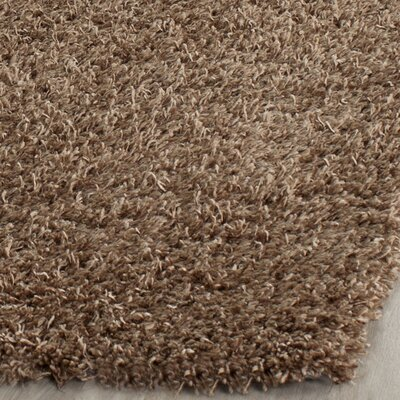 Holliday Light Brown Area Rug Rug Size: Rectangle 5 x 8