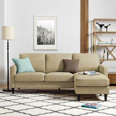 Cazenovia Reversible Sectional Upholstery: Beige