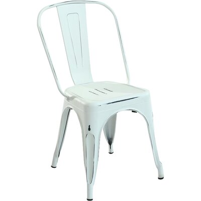 Alyssa Dining Chair Finish: Distressed White