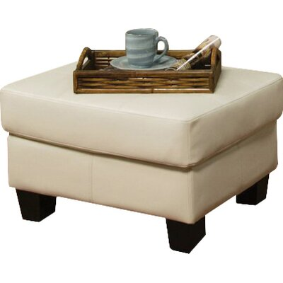 Achilles Ottoman Upholstery: Cream