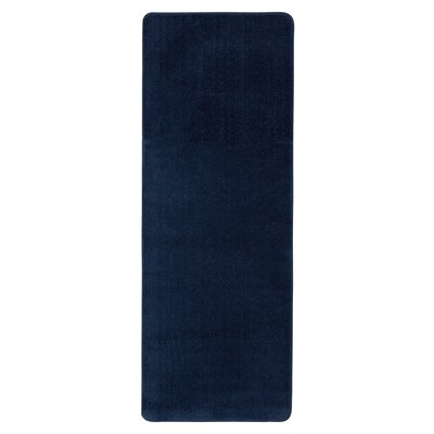 Bundinie Hill Bath Rug Size: Runner 18 x 411, Color: Navy Blue