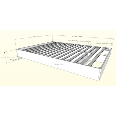 Etting Platform Bed Size: Queen