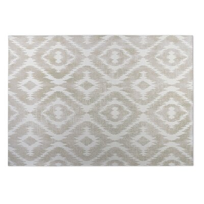 Laplant Ivory Indoor/Outdoor Area Rug Rug Size: Square 8