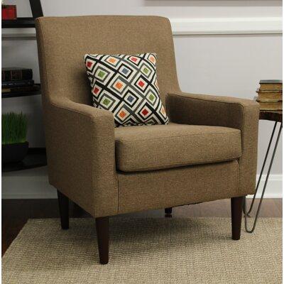 Donham Armchair Upholstery: Pecan