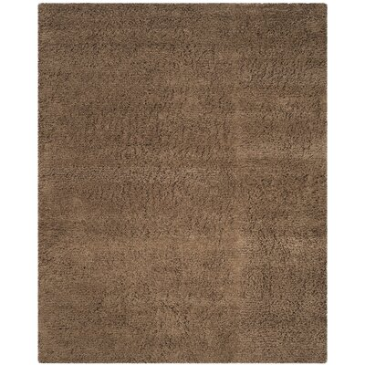 Starr Hill Modern Taupe Area Rug Rug Size: Rectangle 76 x 96