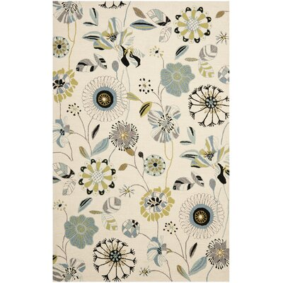 Doe Indoor/Outdoor Rug Rug Size: Rectangle 5 x 8