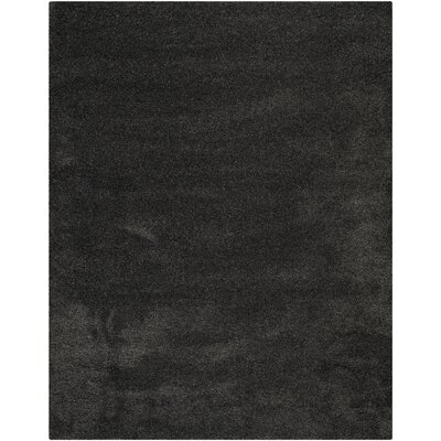 Buster Dark Gray Area Rug Rug Size: Rectangle 8 x 10