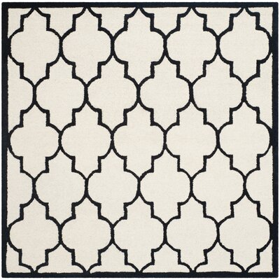 Charlenne Hand-Tufted Area Rug Rug Size: Square 6