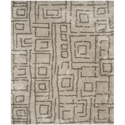 Starr Hill Taupe/Gray Area Rug Rug Size: Rectangle 8 x 10