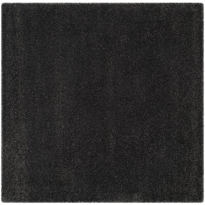 Buster Dark Gray Area Rug Rug Size: Square 7