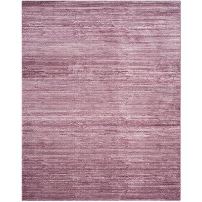 Harloe Purple Area Rug Rug Size: Rectangle 8 x 10