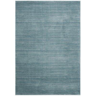 Harloe Aqua Area Rug Rug Size: Rectangle 51 x 76