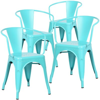 Alyssa Dining Chair Finish: Aqua