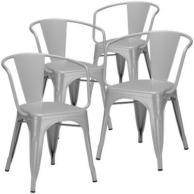 Alyssa Arm Chair Finish: Gray