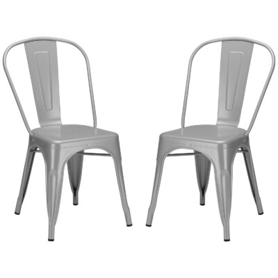 Alyssa Dining Chair Finish: Grey