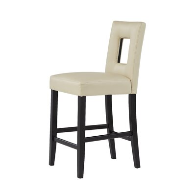 Christensen 27 Bar Stool Upholstery: Beige