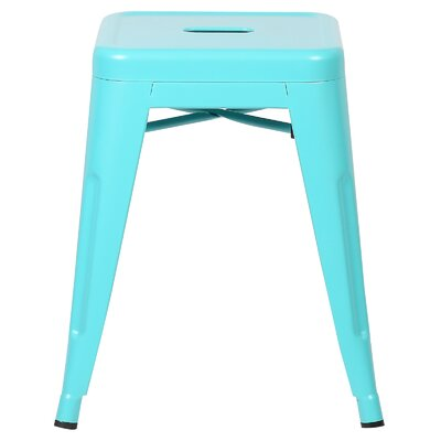 Alyssa 18 Bar Stool Color: Aqua