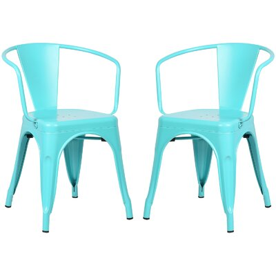 Alyssa Dining Chair Color: Aqua