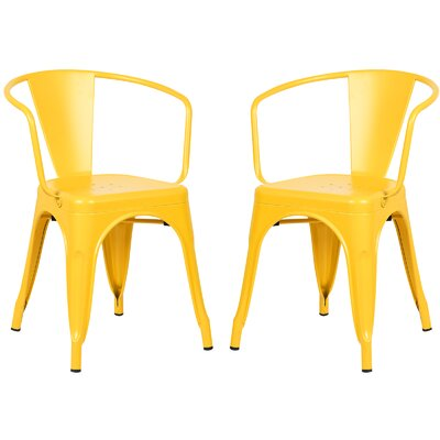 Alyssa Dining Chair Color: Yellow