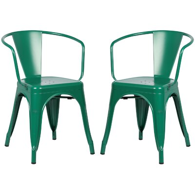 Alyssa Dining Chair Color: Dark Green