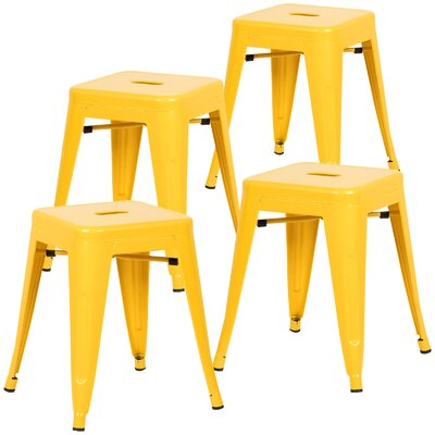Alyssa 18 Bar Stool Color: Yellow