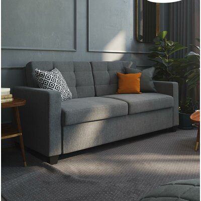 Jovita Sleeper Sofa Color: Gray, Size: Full