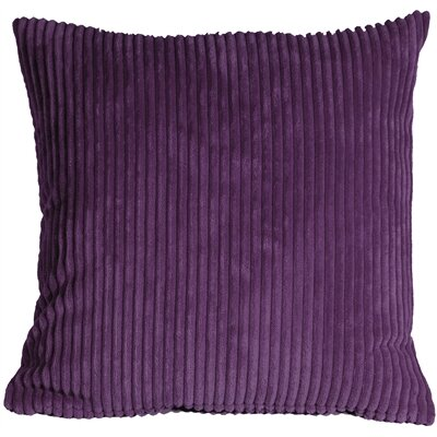 Luciana Throw Pillow Size: 22 H x 22 W x 7 D, Color: Purple