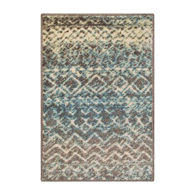 Hopkins Taupe/Ivory Area Rug Rug Size: Rectangle 2 x 3