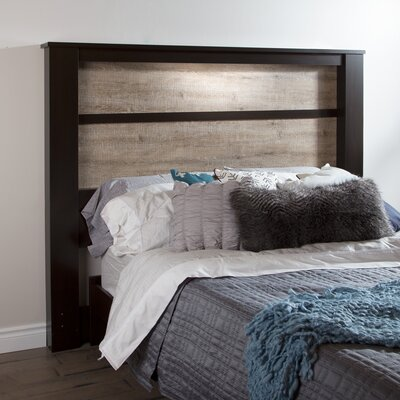 Abram King Panel Headboard Finish: Chocolate