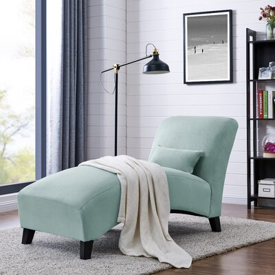 Dante Chaise Lounge Upholstery: Sky