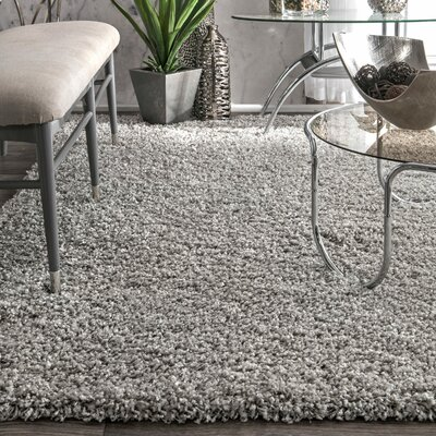 Honey Silver Area Rug Rug Size: Rectangle 53 x 76