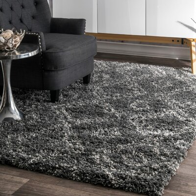 Alexa Gray Area Rug Rug Size: Rectangle 106 x 14