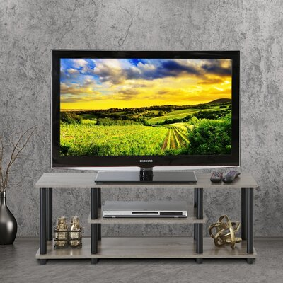 Colleen 43.8 TV Stand Finish: French Oak Grey/Black