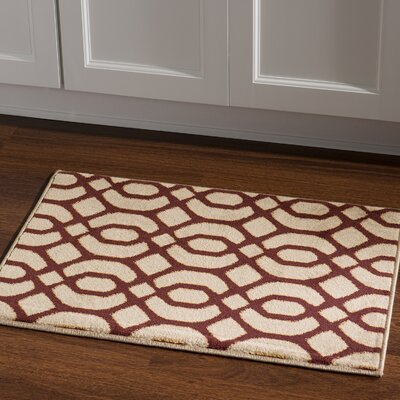 Briana Brown/Tan Area Rug Rug Size: Rectangle 2 x 3